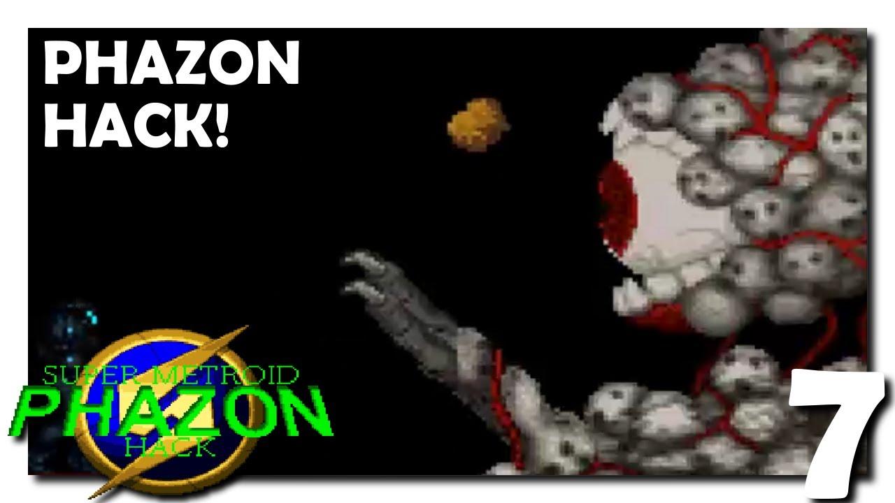 7 • Super Metroid Phazon Hack • Cloud
