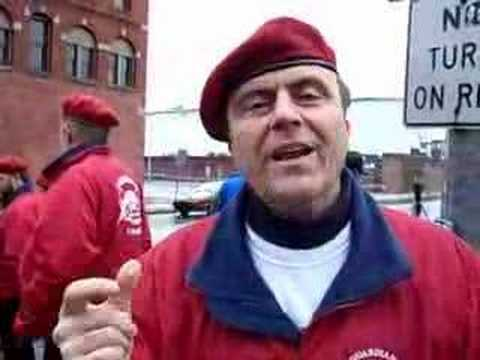 Guardian Angels find public support in Brockton - YouTube