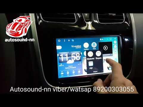 """Штатная Магнитола Renault Logan 2 8""""(2014+)android 6.0"""