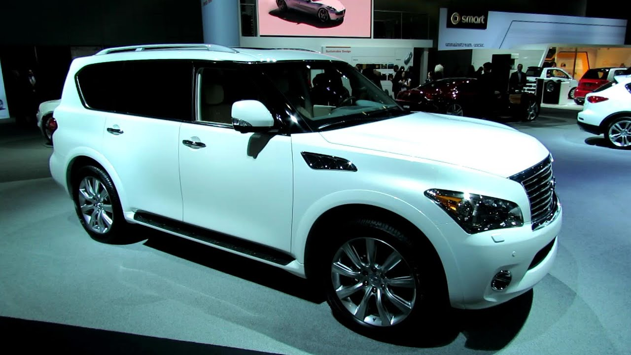 infinity q56. 2013 infiniti qx56 - exterior and interior walkaround 2012 los angeles auto show youtube infinity q56