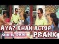 Zara Hut Kay | Prank with Ayaz Khan TV Actor | Funny Videos | Hidden Camera 2017