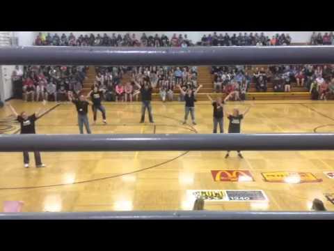 Fremont Senior High School teachers have a dance battle