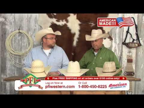 American Straw Cowboy Hats Youtube