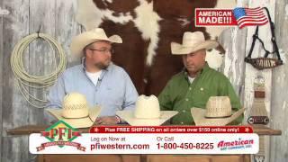 American Straw Cowboy Hats
