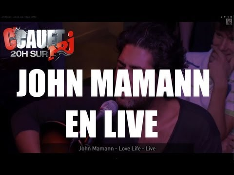 John Mamann - Love Life - Live - C'Cauet sur NRJ