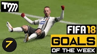 Fifa 18 - TOP 10 GOALS OF THE WEEK #7