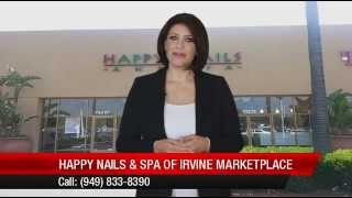 Excellent  Review  For Happy Nails & Spa Of Irvine Marketplace By Emma C.