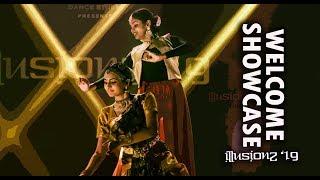 BHARATANATYAM & KATHAK FUSION | ILLUSIONZ 2019 | F2FXDC