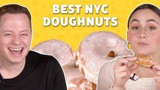 We Ranked the Best Doughnuts in NYC TASTE TEST