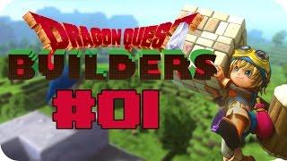 Wir bauen eine Stadt!• #01 • Dragon Quest Builders Deutsch ( Livestream )