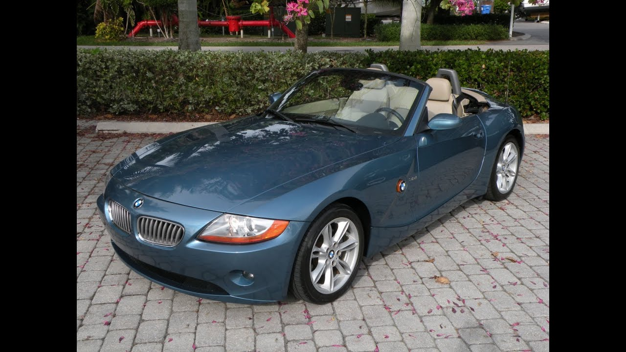 2003 Bmw Z4 3 0i For Sale In Fort Myers Fl Youtube