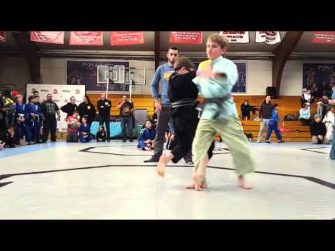 Augusta, NJ Youth BJJ Student Eric Wittrien of Miller Brothers MMA