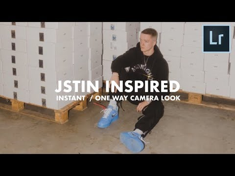 JUSTIN Inspired Instant - Disposable Camera Look Mobile Tutorial (@jstin)