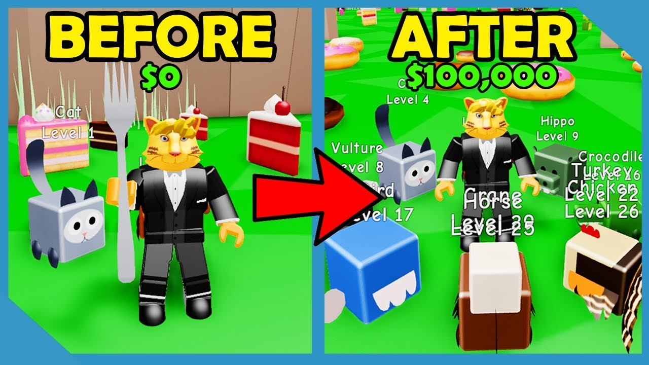 I GOT MAX PETS AND BECOME OVERPOWERED IN ROBLOX DESSERT SIMULATOR