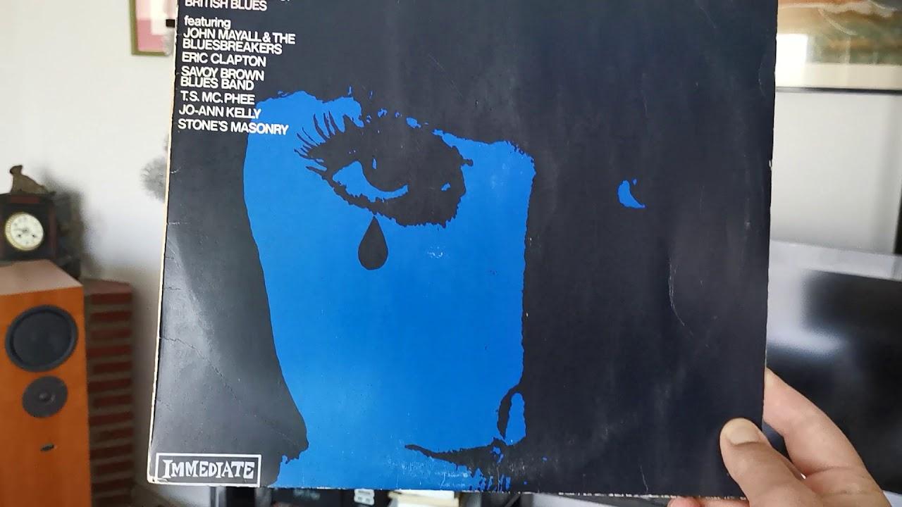 Eric Clapton 🇬🇧- Tribute To Elmore (Clapton/Page) 1967 - Vinyl Mono Blues Anytime Vol1 LP UK 1968 - YouTube