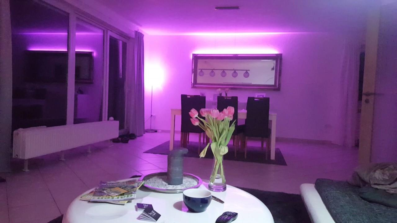 disco licht mit philips hue e27 und stripes youtube. Black Bedroom Furniture Sets. Home Design Ideas