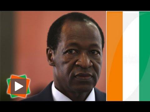"""Blaise Compaoré devenu Ivoirien: ses """"frères"""" Ivoiriens réagissent..."""