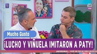 ¡Lucho y Viñuela imitaron a la tía Paty! - Mucho gusto 2018 thumbnail