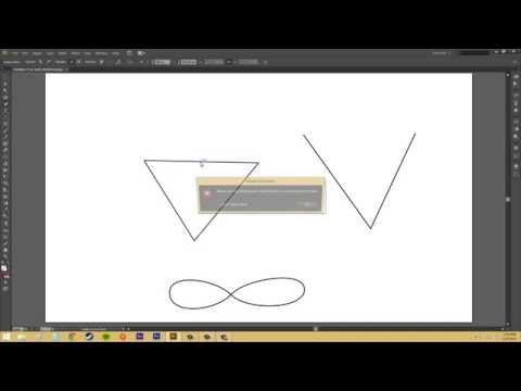 Adobe Illustrator CS6 For Beginners - Tutorial 50 - Pen Tool