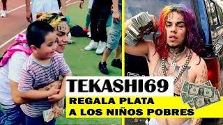 "TEKASHI69 Regala Dinero A Niños Pobres ""ASOMBROSO"""