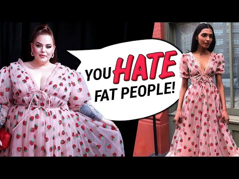 Tess Holliday Twitter RANT Society HATES Fat People! (EXTRA SALTY)