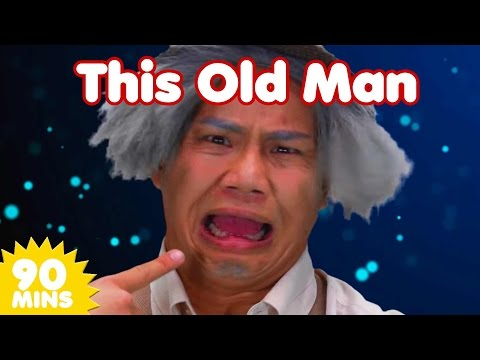 This Old Man and MORE Songs | Nursery Rhymes | 90 Minute Compilation