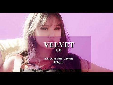 Free Download 【exid】velvet - Le 中韓字幕 Mp3 dan Mp4