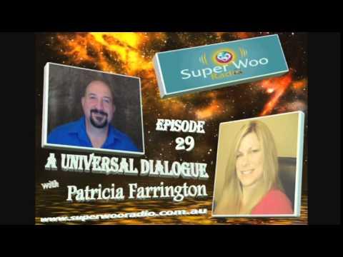 "Super Woo Radio Episode 29 - Patricia Farrington - ""A Universal Dialogue"""