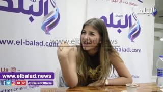 بالفيديو.. ملك قورة: مي عز الدين تفهمني وشخصيتها تشبهني