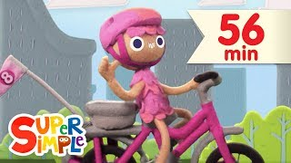 Enjoy this Super Simple numbers song for kids, 10 Little Bicycles, ...