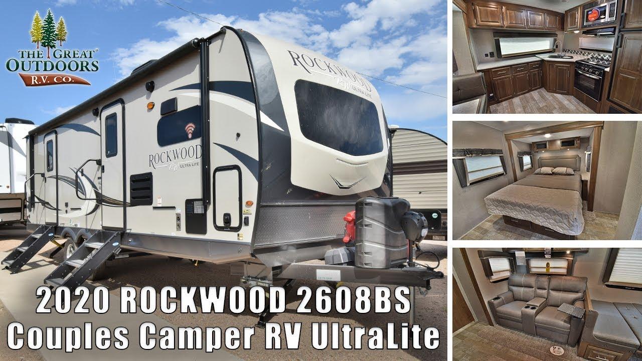 Denver Rv Show 2020.2020 Rockwood 2608bs Ultra Lite 30ft Front Kitchen Couples Camper Rv Trailer Colorado