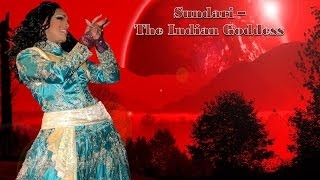 Sundari - The Indian Goddess Performing Gup Chup Gup Chup & Work Bitch