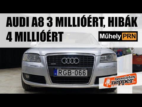 MűhelyPRN 54.: Audi A8 3 millióért, hibák 4 millióért thumbnail