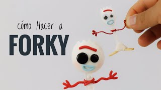 Cómo Hacer a FORKY | Toy Story 4 | Mis Mejores Ideas | Porcelana Fría