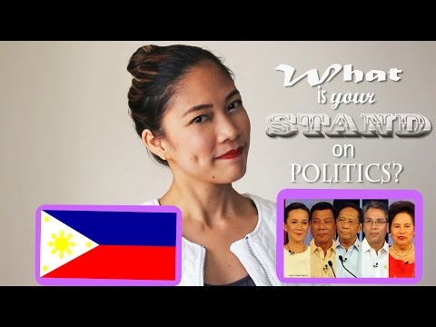 What is your stand on Politics? | FA Interview Question | Philippines Election 2016