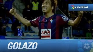Golazo de Inui (1-0) SD Eibar - RCD Espanyol