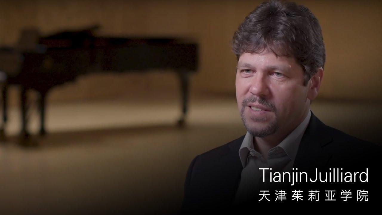 Gergely Ittzés | Tianjin Juilliard Faculty Portrait
