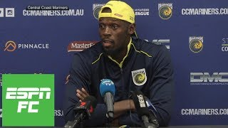 Usain Bolt is focusing on proving himself as a soccer player to the world | ESPN FC