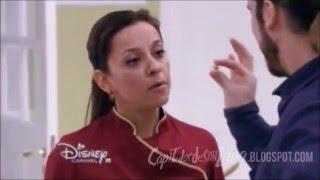 Soy Luna - Monica une la medallita de sol con la de Luna/Monica y Miguel hablan sobre Luna