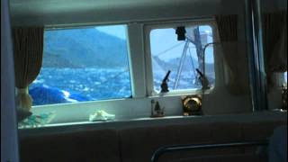 Lagoon 440 Sailing to Datca - 43 Knot Storm