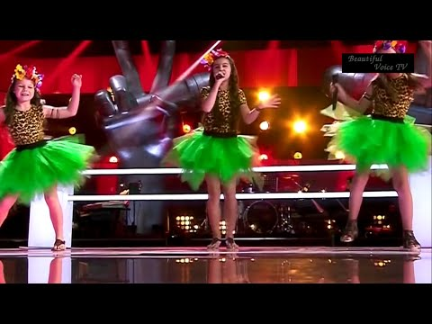 'Roar'(Katy Perry).The Voice Kids Russia 2015.Anastasia/Elizabeth/Anastasia.