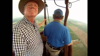 Flying a hot air balloon