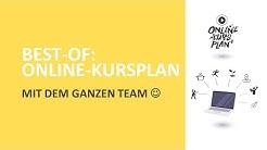 BEST-OF: ONLINE-KURSPLAN MIT DEM GESAMTEN TEAM!