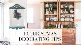 Christmas Decorating Tips and …