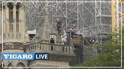 🔴 Notre-Dame de Paris : l'échafaudage de 200 tonnes démonté