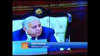 Milli Məclisin plenar iclasında maraqlı anlar yaşanıb