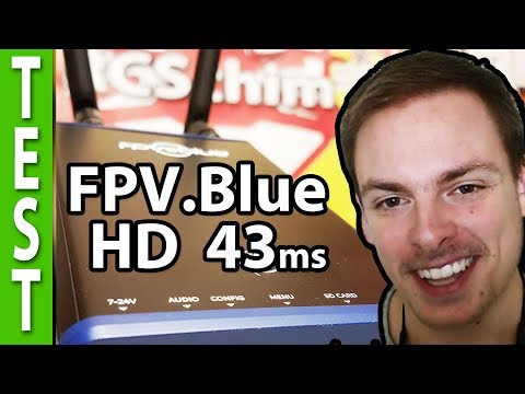 Digital HD video downlink! (Interview with FPV Blue, long range low latency)