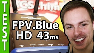 Digital HD video downlink! (Interview with FPV Blue, long range low latency)