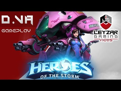 Heroes of the Storm (Gameplay) - D.VA First Impressions (HotS DVA Gameplay Quick Match)