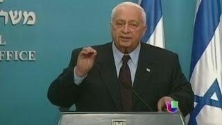 Israel, de luto por la muerte del exprimer ministro Ariel Sharon -- Noticiero Univisión